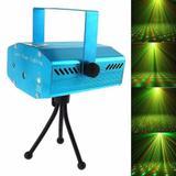 Mini Laser Led Stage Lighting Projetor Holografico Festas