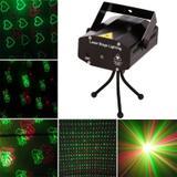 Mini Laser Projetor Strobo Canhão de Luz Holográfico Dj Balada Festa Iluminação - Playshop eletrônicos