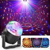 Mini Rgb Bola Maluca Led Party Color Disco Club Balada Dj