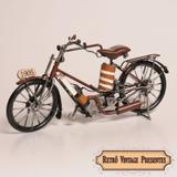 Miniatura Bicicleta Motorizada Antiga de 1905 - Mch ornamentos