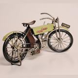 Miniatura Bicicleta Motorizada Antiga de 1909 - News jk