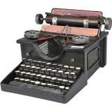Miniatura maquina de escrever 26x17 cm - Btc decor