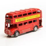 Miniatura Ônibus de Londres de ferro - Mch ornamentos