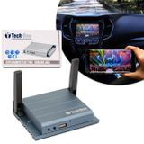 Mirror Link Espelhamento Tela iOS Android Dvd Central Multimídia Wi-Fi HDMI USB Tech One Z-0562