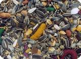 Mistura de Sementes para Papagaios com Frutas-500g - Propria