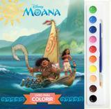 Moana - livro para colorir - Difusao cultural do livro