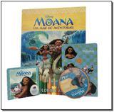 Moana -  Para Colorir e Aprender - Rideel editora ( bicho esperto )