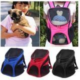 Mochila bolsa de transporte para caes gatos passeio pet dog bag viagem canguru - Faça  resolva