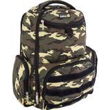 Mochila Maternidade Com 12 Compartimentos Green Army Safety 1ST