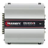 Módulo De Potência Taramps Ds-800x4 800rms 4canais 2r 12,6vdc