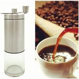 Moedor De Café Grãos Manual Aço Inox E Mecanica Em Ceramica - Home