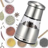 Moedor de pimenta e sal aço inox luxo 11cm CBRN01460 - Commerce brasil