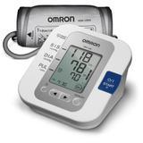 Monitor de Pressão Arterial de Braço Omron HEM 7200 Branco e Azul