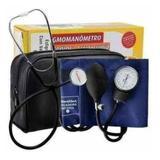 Monitor De Pressão Esfigmomanômetro + Estetoscópio Premium