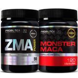 Monster Maca 120 cáps + Zma 90 cáps - Probiótica
