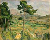 Monte Santa Vitória - Cézanne  Tela Gigante Para Quadro - Santhatela