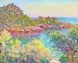 Montecarlo - Claude Monet - Tela 30x37 Para Quadro - Santhatela