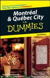 Montreal  quebec city for dummies - Jwe - john wiley