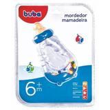 Mordedor Chocalho Mamadeira Azul - Buba