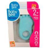 Mordedor Pé Pezinho Para Bebê Atóxico - Azul - Bee Toys - Beetoys