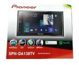 Multimidia Receiver Pioneer Sph-da138tv Tela 6.2 Capacitiva bluetooth tv digital usb