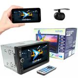 """Multimídia Universal Exbom MP5 Player 7"""" HD TFT Touch Screen Com Câmera de Ré"""