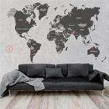 Mural Mapa Mundi - Tacolado