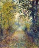 Na Floresta - Pierre-Auguste Renoir - Tela 60x73 Para Quadro - Santhatela