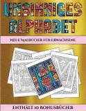 Neue Malbücher für Erwachsene (Unsinniges Alphabet) - Arts and crafts for kids ltd