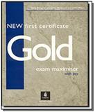 New first certificate gold exam maximiser with key - Pearson