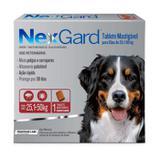 Nex Gard - Antipulgas e Carrapatos - Cães de 25,1 a 50 kg - 1 tablete - Merial
