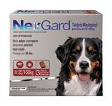 Nex Gard - Antipulgas e Carrapatos - Cães de 25,1 a 50 kg - 3 tabletes - Merial