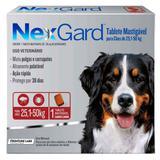 Nexgard Cães 25 a 50kg 136MG 1 COMPRIMIDO - Merial