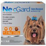 Nexgard caes 2kg a 4kg - 01 tablete - Frontline labs