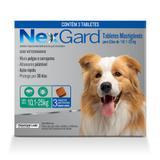 Nexgard Cães Antipulgas E Carrapatos  10 A 25 Kg- 3 Tabletes - Merial