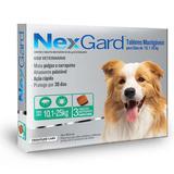 NEXGARD G 10 a 25kg com 3 TABLETES MASTIGAVEIS - Merial