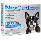 Nexgard M 4 A 10kg Com 3 Tabletes Mastigaveis - Merial