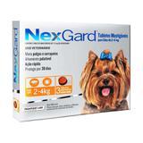 Nexgard P Cães 2 a 4kg 3 Tabletes Antipulgas e Carrapatos Merial - Descrição marketplace