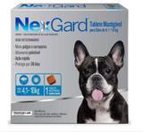NexGard Tablete Mastigável - Antipulgas e Anticarrapatos para Cães de 4,1 a 10 Kg