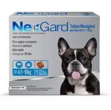 NexGard Tablete Mastigável para Cães de 4,1-10kg