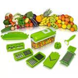 Nicer Dicer Plus - Cortador e Fatiador de Legumes, Frutas e Verduras - Rpc