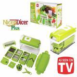 Nicer Dicer Plus Cortador Fatiador Legumes Frutas Verduras - Desembrulha