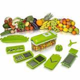 Nicer Dicer Plus Cortador Fatiador Processador de Legumes Frutas Verduras - Dc importação