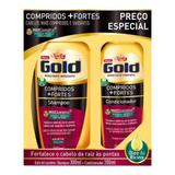 Niely Gold Compridos+forte Kit Shampoo300ml+Condicionador200ml - Niely do brasil