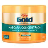 Niely Gold Óleo de Argan Pós Química - Máscara de Hidratação Profunda