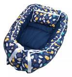 Ninho Redutor de Berço Safari Azul Marinho - 2 Peças - I9 baby