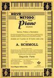 Novo Metodo Para Piano Schmoll Parte II - Schmoll, anton