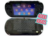 Novo Mini Game Portátil Jogos Player Lançamento Preto - Sup