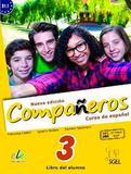 Nuevo Compañeros 3 - Libro Del Alumno Con Licencia Digital - Edición Brasil - Sgel - sbs