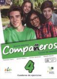 Nuevo companeros 4 - cuaderno de ejercicios con licencia digital - Sgel